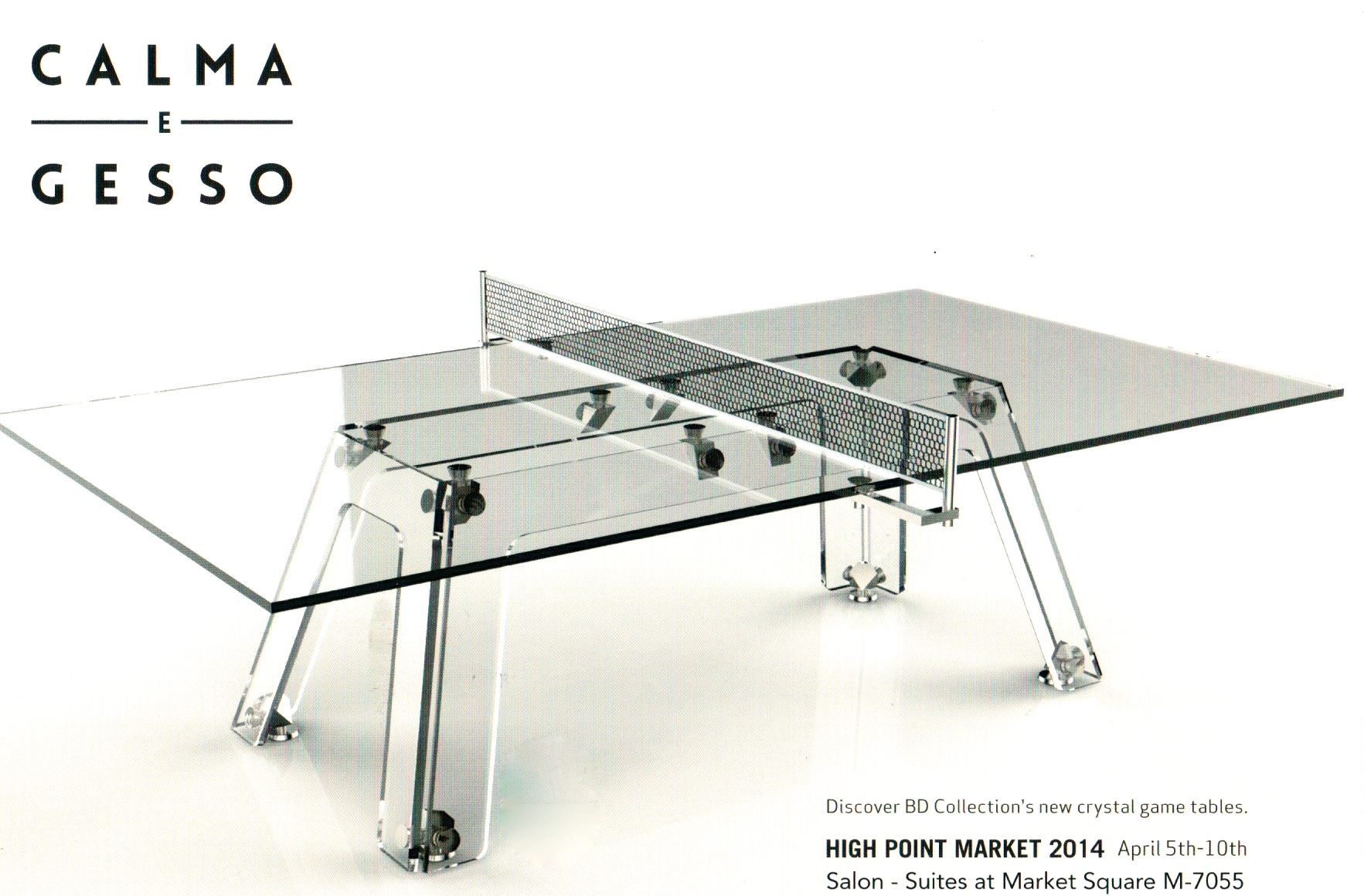 Crystal Ping Pong Table Design Vision Studio