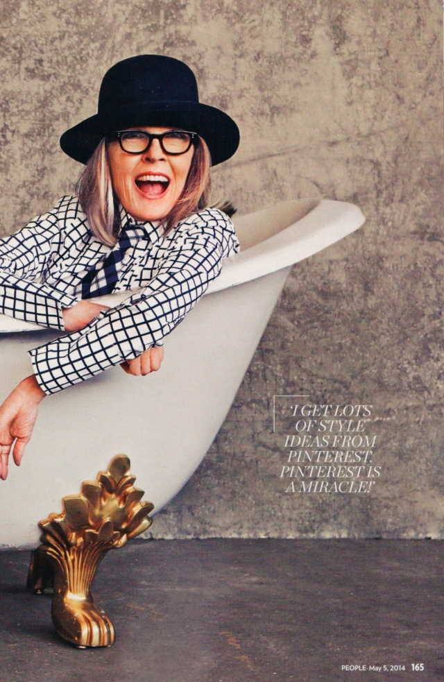 Diane Keaton Pinterest