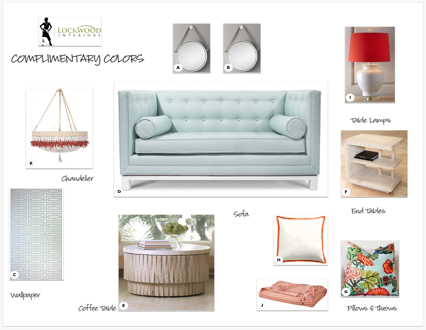DESIGN TIP Using Complimentary Colors Interior Design Psychology Blog T